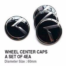 3D K Emblem Wheel Center Cap Hub Cap Set For KIA 11 12 13 14 15 16 17 Cadenza K7