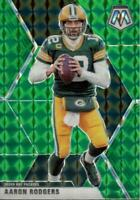 2020 Panini Mosaic Green Prizm Aaron Rodgers #79 Green Bay Packers