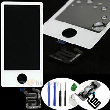 White Touch Screen Digitizer Glass Lens Panel Part for iPod Nano 7 7th Gen+Tools