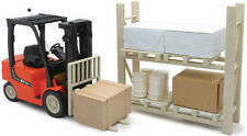 R/C Warehouse FORKLIFT Radio Control  1/14 FORKLIFT w/ Pallet, Rack, Box's