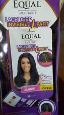 ☆☆Freetress Equal Lace Front Invisible L-Part Synthetic Wig▪Jannie▪OP530☆☆