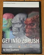 Get Into Zbrush By Glen Southern Kurv Studios DVD