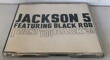 Jackson 5 CD I Want You Back 98 Featuring Black Rob Ultra Rare Michael Jackson