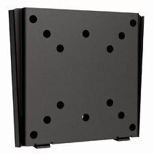 "Low Profile Universal 13""-27"" Flat TV Wall Mount Bracket VESA 50 75 100 mm Black"
