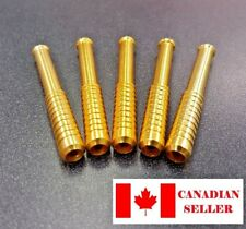 Canadian Seller, Metal Bat Pipe One Hitter. Gold. Smoking. New. Dry herb.