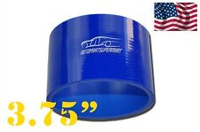 "4-ply Silicone Straight Coupler Turbo Hose Pipe couplings 95mm (3.75"") Blue"