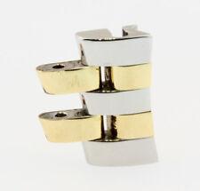 Breitling J Class Anstoss 15mm in Stahl Gold I008