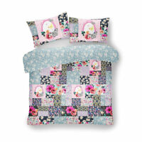 Double King Size Duvet Cover Set with Pillowcase Quilt Soft Bedding Reversible