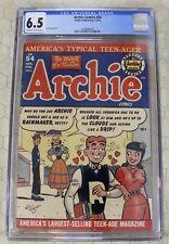 ARCHIE COMICS  #54 (1952) CGC 6.5 (Archie Publications) !