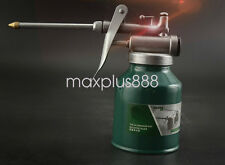 New 1pcs 250ml Metal High Pressure Pump Oiler Oil Can Gun For Lubricants