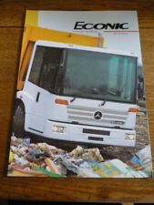 MERCEDES BENZ ECONIC REFUSE COLLECTION  LORRY, TRUCK  BROCHURE 1991