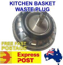 Kitchen Basket Waste Plug with Rubber Quality