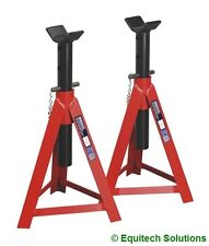 Sealey Tools AS5000M Axle Stands 5 Ton Each 10 Ton Per Pair 700mm Medium Height