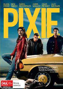 BRAND NEW Pixie (DVD, 2020) *PREORDER R4 Movie Olivia Cooke | Alec Baldwin