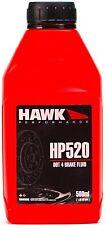 Hawk HP520 High-Performance Brake Fluid DOT 4 High Temp 500 degrees Faranheight