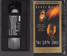 VHS - THE SIXTH SENSE - 1996 - BRUCE WILLIS -=- Buy more and save!