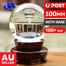 80mm Clear Glass Crystal Healing Ball Photography Lens Ball Sphere Decoration