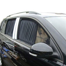 2PCS Car UV Protection Sun Shade Curtains Side Window Visor Mesh Cover Shield
