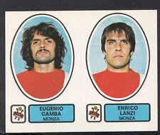PANINI CALCIATORI FOOTBALL Adesivo 1977-78, N. 459, MONZA-EUGENIO GAMBA