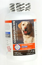 Cosequin DS Maximum Strength + MSM 132 Chewable Tablets exp 05/2023