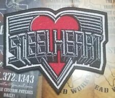 EMBROIDERED STEELHEART GLAM METAL BAND PATCH