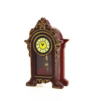 1/12 Wooden Miniature Doll House Table Clock Mini Furniture Decor Kids Toy DIY