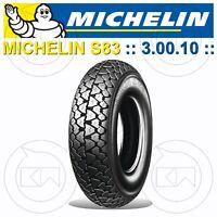 MICHELIN S 83 PNEUMATICO 3.00.10 42J PIAGGIO VESPA PK 50 XL RUSH (V5X4T)