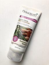 New Sealed Petal Fresh White Radiance Facial Scrub Deep Cleansing Rosemary Almon