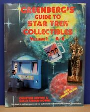 Greenberg's Guide to Star Trek Collectibles Volume 1 A-E '91 First Ed & Printing