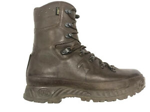 HAIX Combat Cold Wet Weather GoreTex Brown Leather UK 9M Male G1 #3774