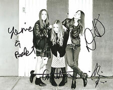 HAIM SIGNED 8X10 PHOTO PROOF COA AUTOGRAPHED FOREVER FALLING DAYS ARE GONE