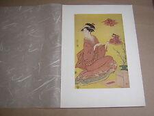Eishi. la bambola Festival. Mid 1790's. riproduzione stampa legno giapponese