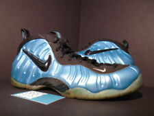 2011 Nike Air FOAMPOSITE PRO ONE SOUTH BEACH ELECTRIC BLUE RETRO BLACK WHITE 12