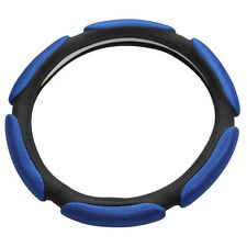 Air Mesh and Foam Padded Universal Steering Wheel Cover Fits 15 inches Stee F6U1