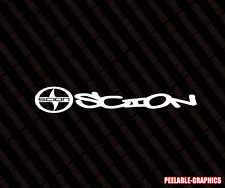 "SCION LOGO Graffiti Decal 7"" Vinyl Sticker Race Toyota TRD XB TC IQ XD"