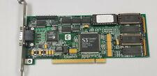 Number Nine 9FX Motion 531 S3 868 PCI Rare VGA Video Card DOS retro Gaming #K32