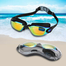 Swimming Goggles Glasses Clear for Kids Adult Men Youth UV Protection