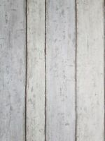 Erismann Paste the Wall Vinyl Cream Grey Woodwash Wood Panel Feature Wallpaper