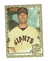 2019 Topps Allen & Ginter Gold #52 Buster Posey San Francisco Giants