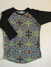 Size Medium Lularoe Randy Black Sleeves Beautiful Body