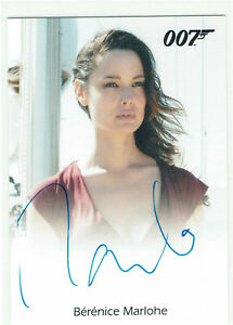 James Bond Archives 2016 Spectre Edition Autograph Berenice Marlohe as Severine