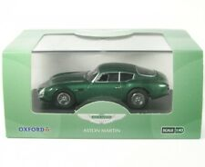 "Oxford Diecast 1/43 1960 Aston Martin Db4gt DB4 GT Zagato ""2 Vev "" verde"