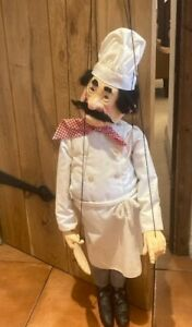 Large marionnette/puppet chef