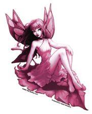 #SEXY #FAIRY PINK LEAF FAERIE #FAE VINYL #BumperSticker #STICKERS/#DECALS