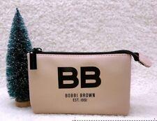 BOBBI BROWN Nude Pink Makeup Cosmetics Bag, Brand NEW! 100% Genuine!!