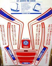 Kit adesivi stickers casco helmet anni 80's vintage epoca - YAMAHA