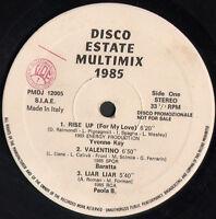 VARIOUS (Yvonne Kay / Baratta / Paola B TWILIGHT) Disco Sommer Multimix 1985