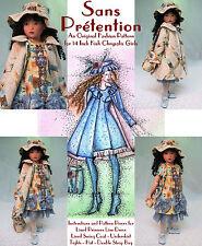 """""""Sans Prétention"""" Fashion Pattern for Kish Chrysalis"""
