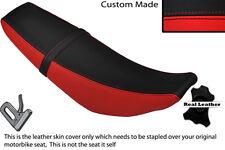 Rojo Y Negro Custom Fits Yamaha Wr 125 R X 09-13 Doble Cuero Funda De Asiento