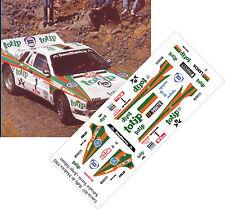 Calcas al agua escala 1/43 Lancia 037 Totip Salvador Serbiá Madeira1985